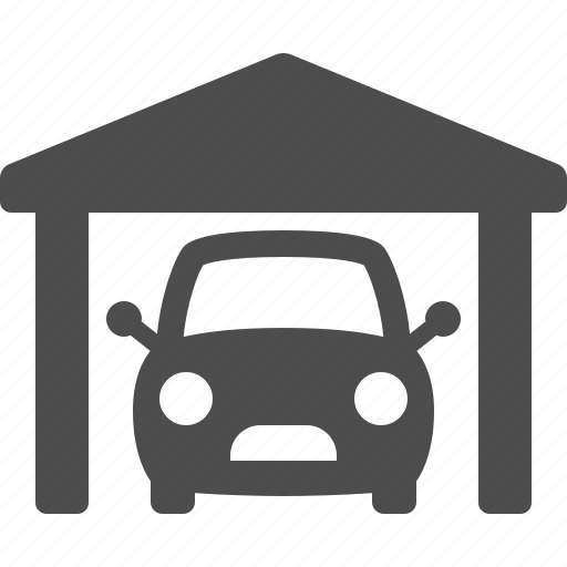 Car, garage, real estate, vehicle, workshop icon | Icon ...