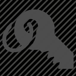 key, keychain, lock, security icon