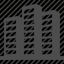 building, office building, real estate, skyscraper, tower icon