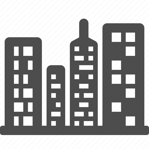 buildings, city, office building, skyline, skyscraper, tower icon