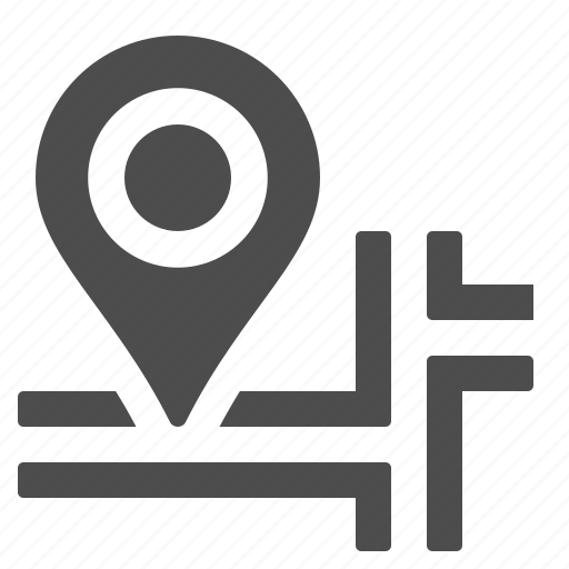 delivery, gps, location, map, marker icon