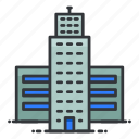 building, estate, property, real, skyscraper icon