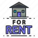 estate, for, real, rent