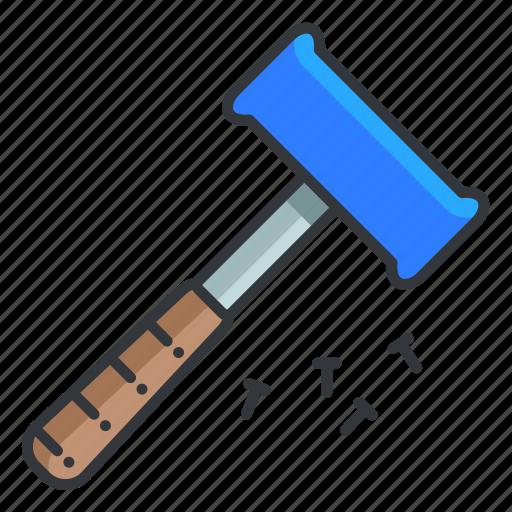 estate, hammer, maintenance, real, tool icon
