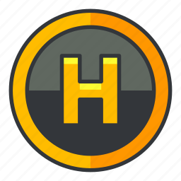 estate, health, hospital, location, medical, real icon