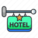 estate, holiday, hotel, real, vacation icon