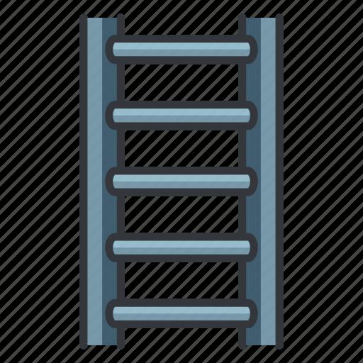 estate, ladder, maintenance, real, tool icon