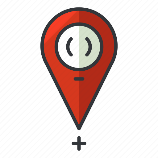 estate, location, navigation, pointer, real icon