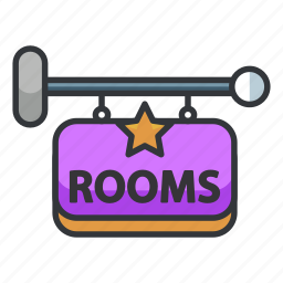 estate, holiday, hotel, real, rooms, vacation icon