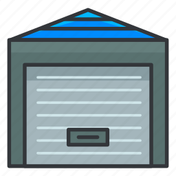 estate, locker, real, storage icon