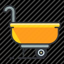 estate, maintenance, real, tool, wheelbarrow icon