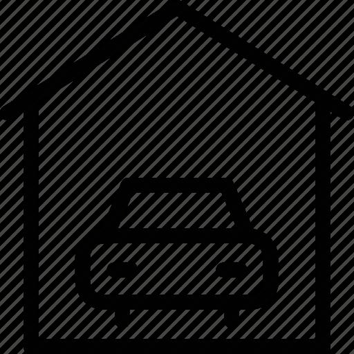 car, car wash, garage, real estate, transport, travel, vehicle icon