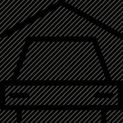 car, car wash, estate, garage, house, real estate, vehicle icon