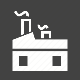 construction, factory, machinery, manufacturing, metal, plant, workshop icon