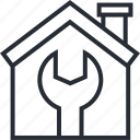 buy, estate, home, house, housing, real, repairs icon