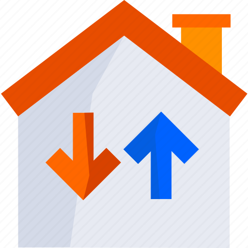 buy, change, estate, home, house, housing, real icon