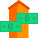 buy, estate, home, house, housing, mortgage, real icon
