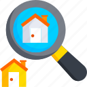 buy, estate, home, house, housing, real, search icon
