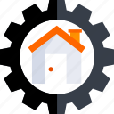 buy, estate, home, house, housing, real, setting icon