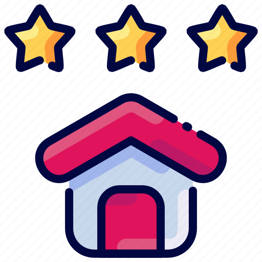 Best, bukeicon, estate, home, house, rate, real icon - Download on Iconfinder