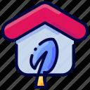 bukeicon, ecohome, ecology, estate, home, house, real icon