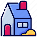 bukeicon, home, house, property icon