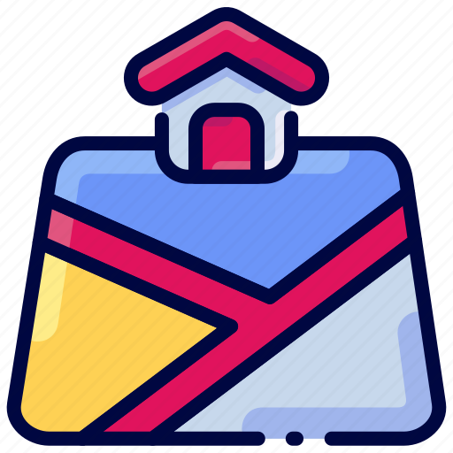 Bukeicon, house, location, map, pin, property icon - Download on Iconfinder