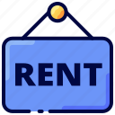 bukeicon, house, property, rent