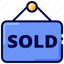 bukeicon, house, property, sold icon
