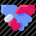 bukeicon, business, deal, hand, handshake, property