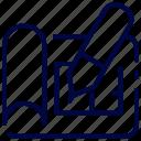 architecture, blue, bukeicon, construction, paper, plan, print icon