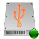 hdd, mount, usb icon