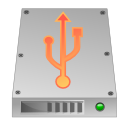 hdd, unmount, usb icon
