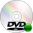 dvd, mount icon