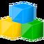 blocks, modules icon