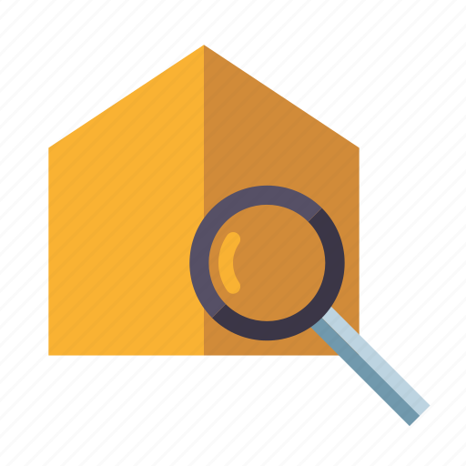 home, house, real estate, realty, search, searching icon