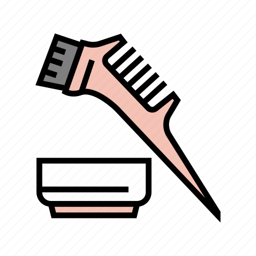 Comb, plate, keratin, application, hair, procedure icon - Download on Iconfinder