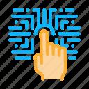 biometric, fingerprint, recognition, secure, security, verification