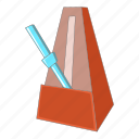 audio, metronome, music, sound icon
