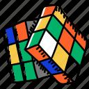 cube, rubik, game, rubik cube, amusement