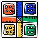 game, dice board, indoor game, dice game, board game