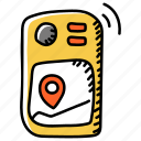 gps, geocaching, location, navigation, device