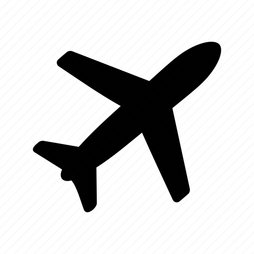 aircraft, airplanetravelmeanicons, transport icon