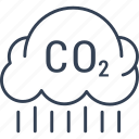 cloud, oxygen, rain, recycling icon