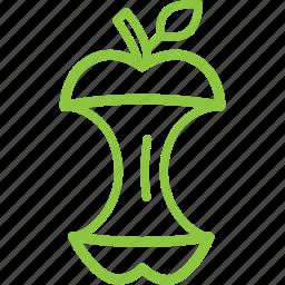 bio, garbage, organic, recycle, trash, waste icon