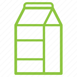 pack, packaging, paper, recycle, trash icon