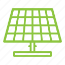 alternative, ecologigal, energy, panel, renewable, solar icon
