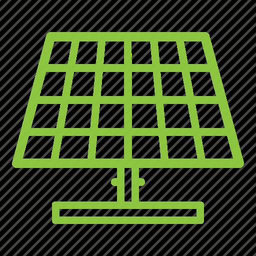 alternative, ecologigal, energy, panel, renewable, solar icon