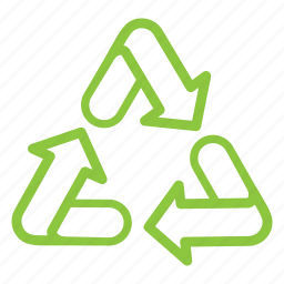 arrow, eco, eco-friendly, ecology, recycle, recycling icon