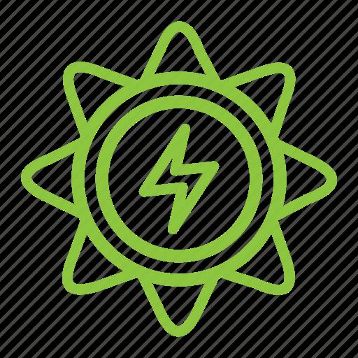 alternative, eco, ecology, energy, solar icon